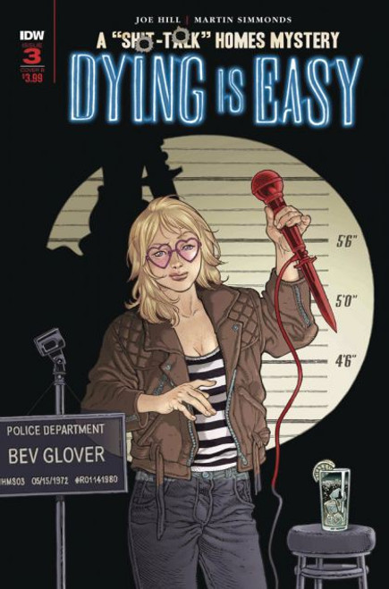 IDW Publishing Dying Is Easy #3B Comic Book