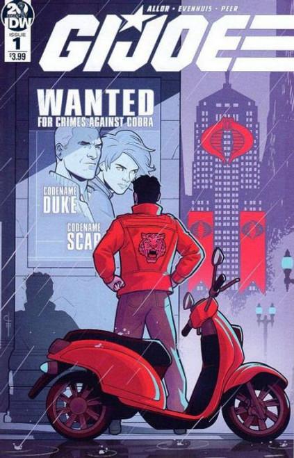 IDW Publishing G.I. Joe (IDW), Vol. 6 #1A Comic Book