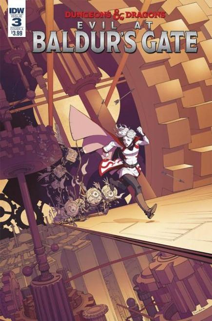 IDW Publishing Dungeons & Dragons: Evil at Baldur's Gate #3A Comic Book
