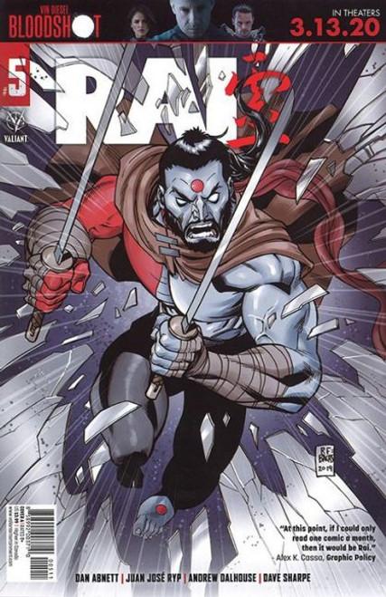 Valiant Comics Rai, Vol. 3 #5A Comic Book