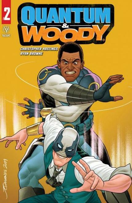 Valiant Comics Quantum & Woody, Vol. 4 #2B Comic Book