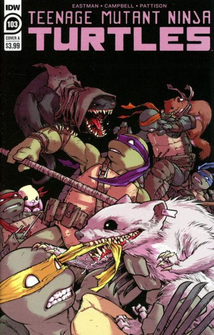 IDW Publishing Teenage Mutant Ninja Turtles, Vol. 5 #103A Comic Book