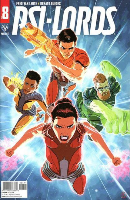 Valiant Comics Psi-Lords (Valiant Entertainment) #8A Comic Book