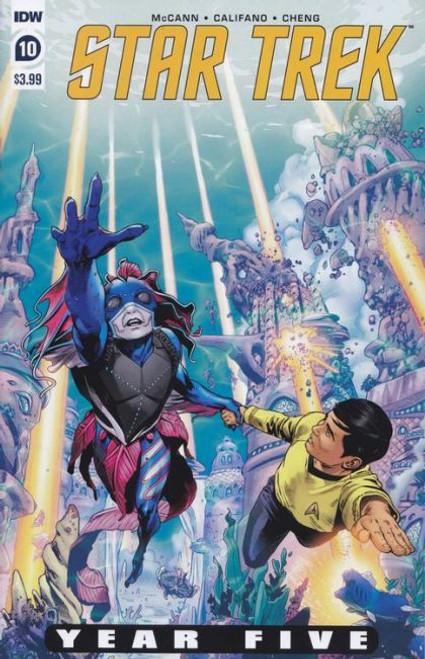 IDW Publishing Star Trek: Year Five #10A Comic Book