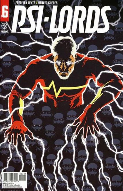 Valiant Comics Psi-Lords (Valiant Entertainment) #6C Comic Book