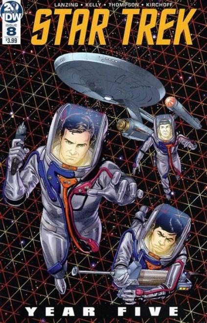 IDW Publishing Star Trek: Year Five #8A Comic Book