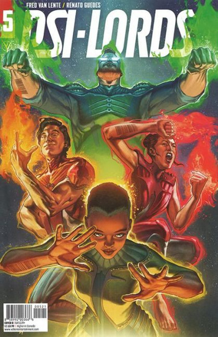 Valiant Comics Psi-Lords (Valiant Entertainment) #5B Comic Book