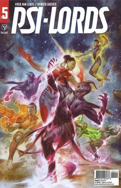 Valiant Comics Psi-Lords (Valiant Entertainment) #5A Comic Book
