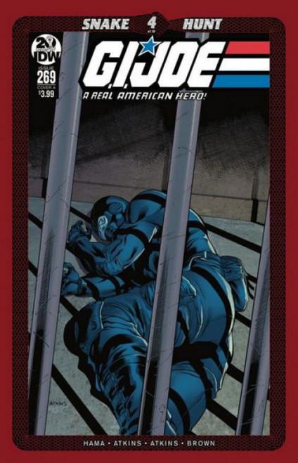 IDW Publishing G.I. Joe: A Real American Hero (IDW), Vol. 1 #269A Comic Book