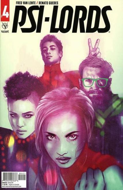 Valiant Comics Psi-Lords (Valiant Entertainment) #4B Comic Book