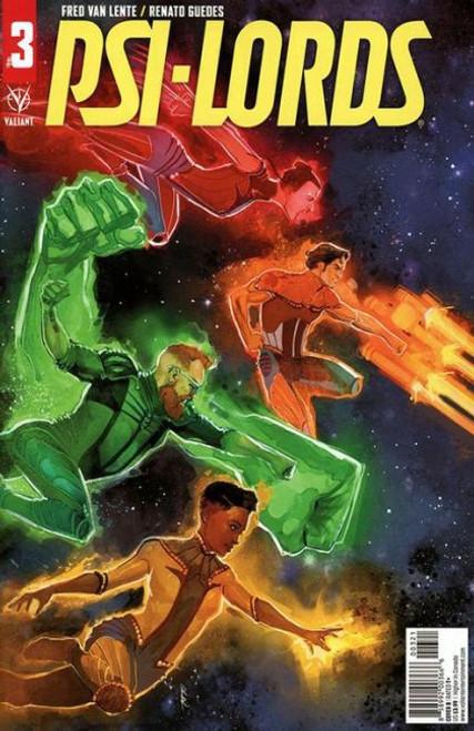 Valiant Comics Psi-Lords (Valiant Entertainment) #3B Comic Book