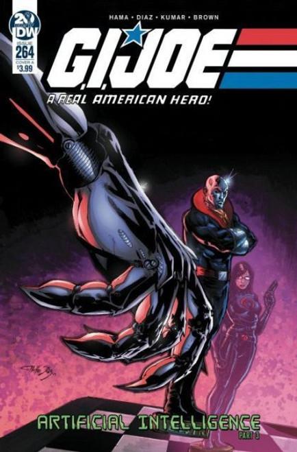 IDW Publishing G.I. Joe: A Real American Hero (IDW), Vol. 1 #264A Comic Book
