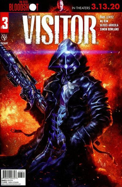 Valiant Comics The Visitor #3B Comic Book