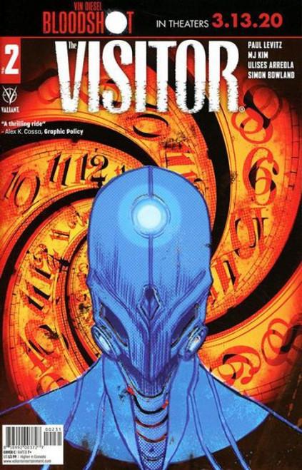 Valiant Comics The Visitor #2C Comic Book