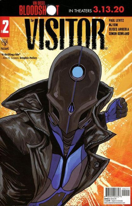 Valiant Comics The Visitor #2A Comic Book