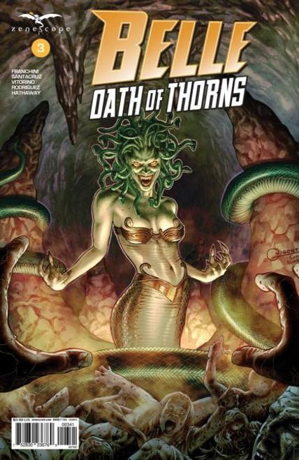 Zenescope Belle: Oath Of Thorns #3A Comic Book