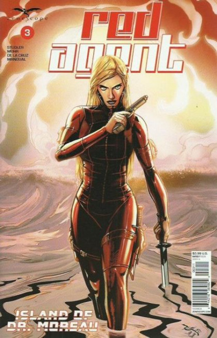 Zenescope Red Agent: The Island Of Dr Moreau #3A Comic Book