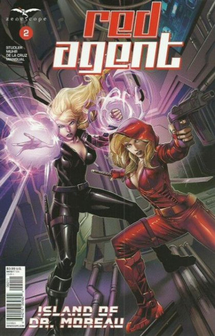 Zenescope Red Agent: The Island Of Dr Moreau #2A Comic Book