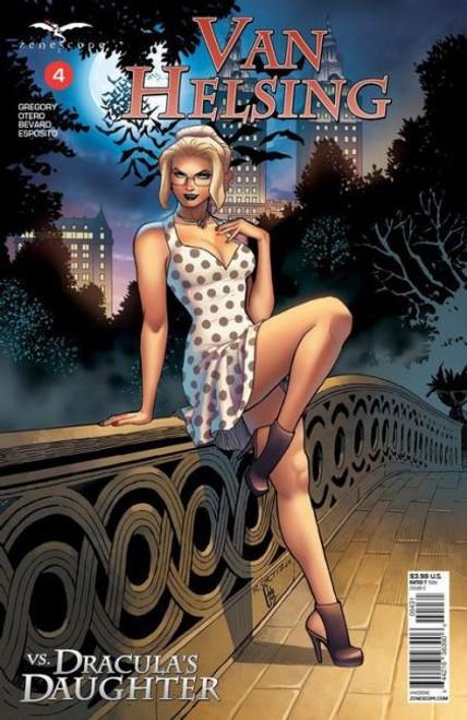 Zenescope Van Helsing Vs Dracula's Daughter #4C Comic Book
