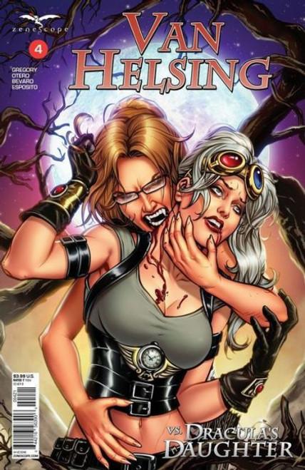 Zenescope Van Helsing Vs Dracula's Daughter #4B Comic Book