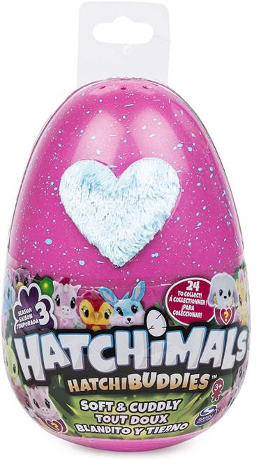 Hatchimals HatchiBuddies Season 3 Soft & Cuddly Plush 6-Inch Mystery Pack