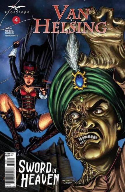 Zenescope Grimm Fairy Tales Presents: Van Helsing - Sword of Heaven #4B Comic Book