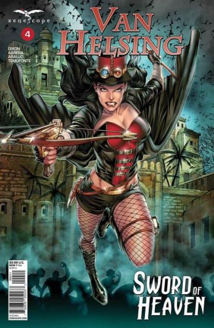 Zenescope Grimm Fairy Tales Presents: Van Helsing - Sword of Heaven #4A Comic Book