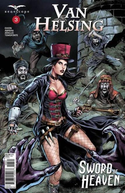 Zenescope Grimm Fairy Tales Presents: Van Helsing - Sword of Heaven #3B Comic Book