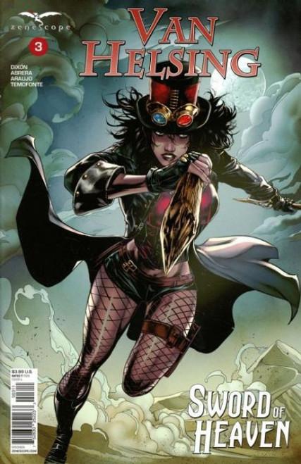 Zenescope Grimm Fairy Tales Presents: Van Helsing - Sword of Heaven #3A Comic Book