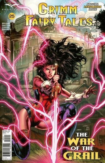Zenescope Grimm Fairy Tales, Vol. 2 #25A Comic Book