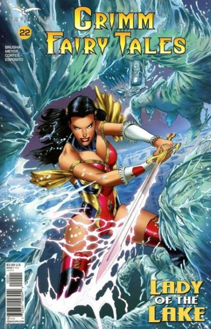 Zenescope Grimm Fairy Tales, Vol. 2 #22B Comic Book