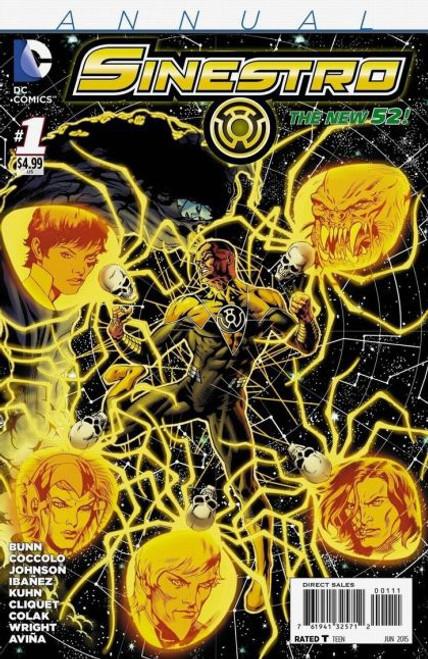 DC Comics Sinestro Annual #1A Comic Book