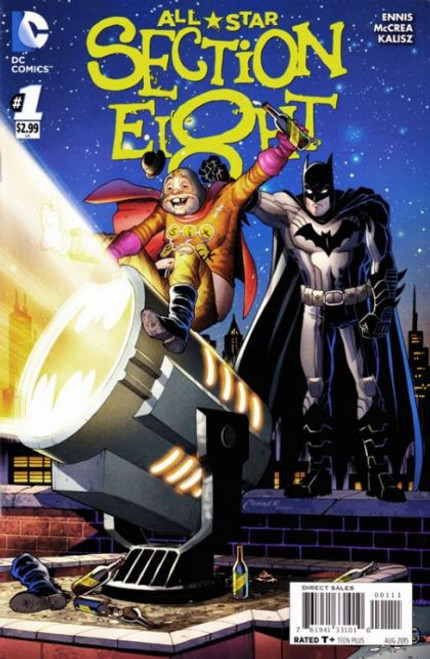 All Star Section 8 (DC Comics) #1A Comic Book