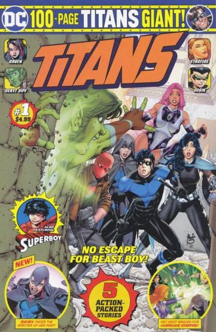 DC Comics Titans Giant #1B Comic Book