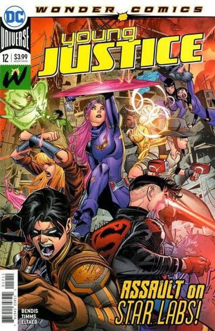 DC Comics Young Justice, Vol. 3 #12A Comic Book