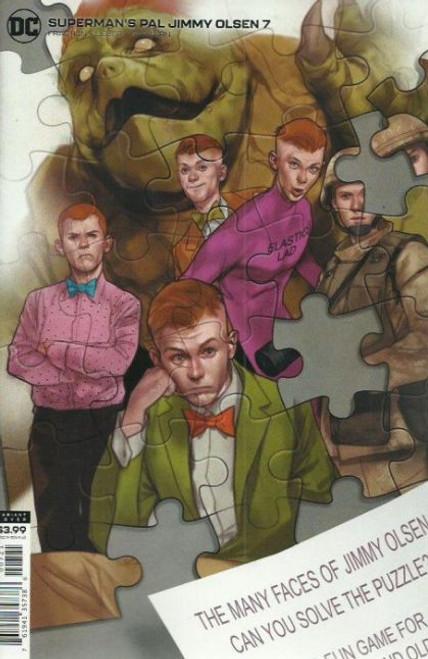 DC Comics Jimmy Olsen, Vol. 2 #7B Comic Book