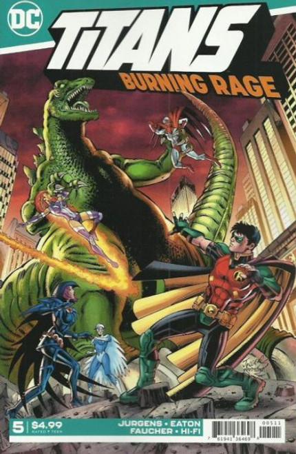DC Comics Titans: Burning Rage #5 Comic Book