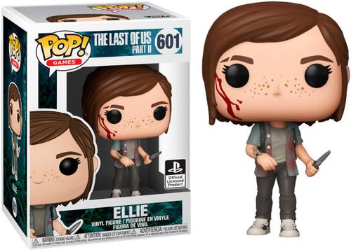 Funko The Last of Us Part II Pop! Games Ellie Vinyl Figure #601