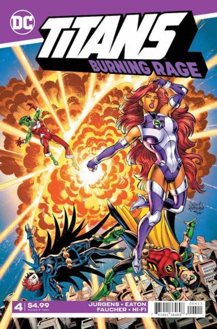 DC Comics Titans: Burning Rage #4 Comic Book