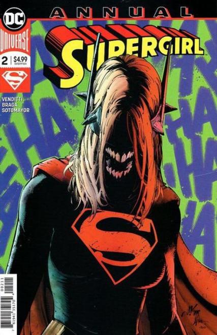 DC Comics Supergirl, Vol. 7 Annual #2 Comic Book