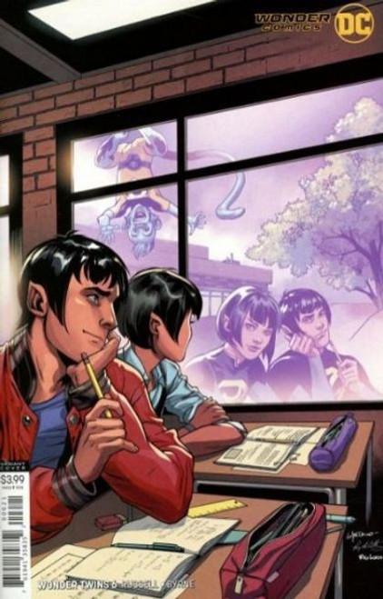 DC Comics Wonder Twins #6B Comic Book
