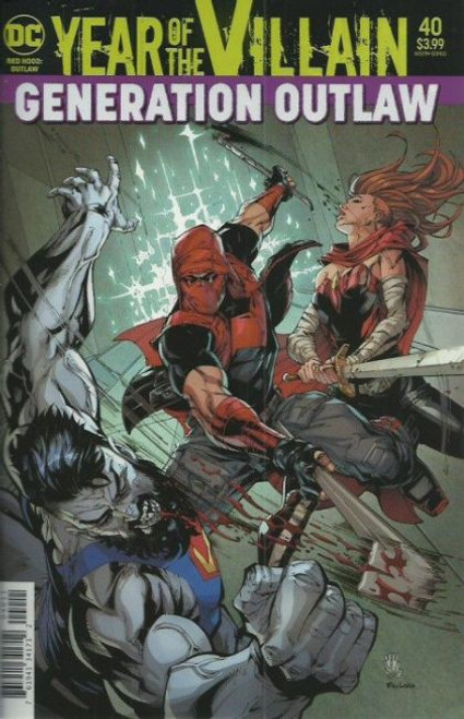 DC Comics Red Hood and the Outlaws, Vol. 2 #40A Comic Book