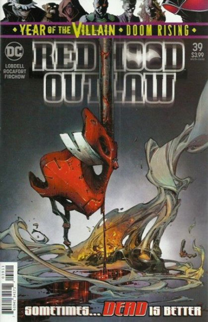 DC Comics Red Hood and the Outlaws, Vol. 2 #39A Comic Book