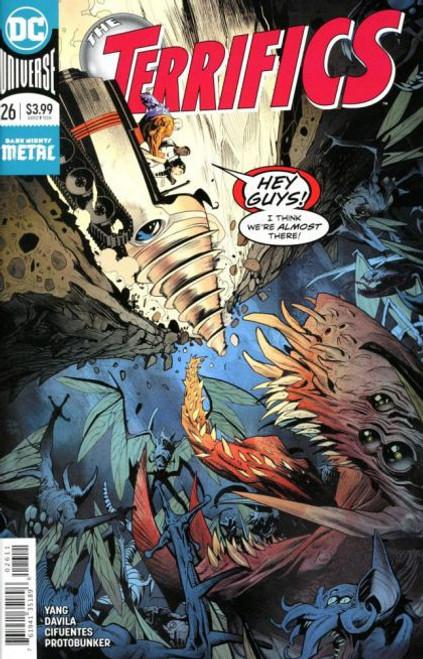 DC Comics Terrifics #26 Comic Book