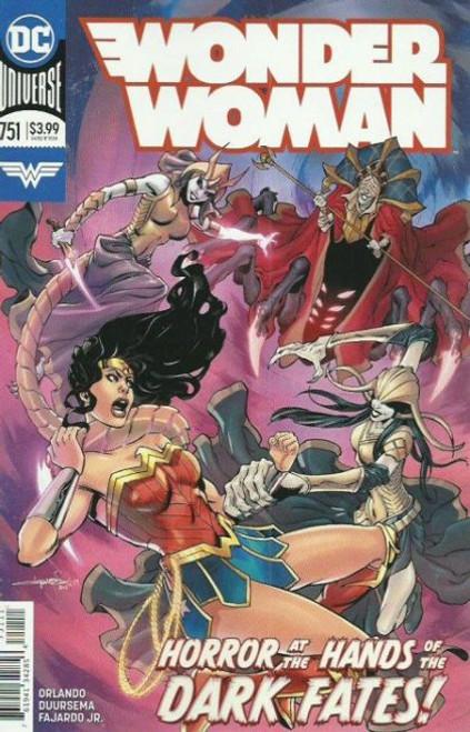 DC Comics Wonder Woman, Vol. 5 #751A Comic Book