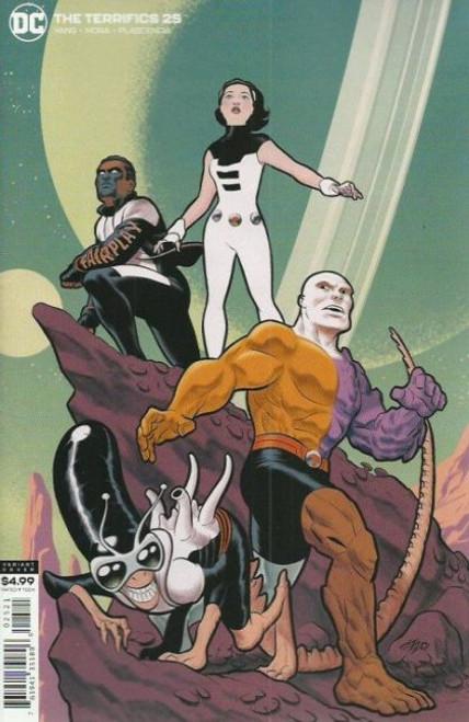DC Comics Terrifics #25B Comic Book