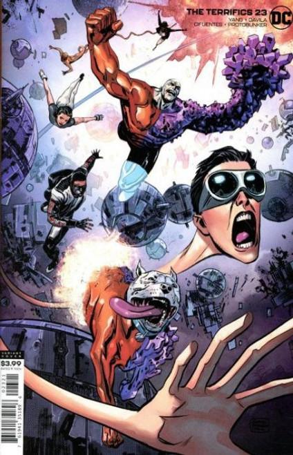 DC Comics Terrifics #23B Comic Book