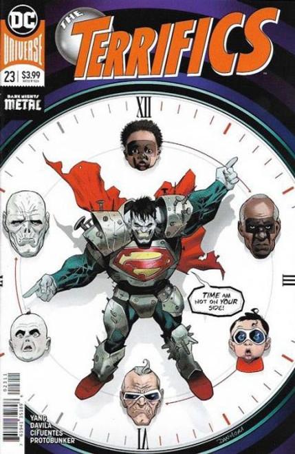 DC Comics Terrifics #23A Comic Book