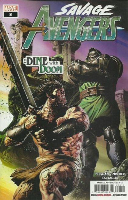 Marvel Savage Avengers #8A Comic Book