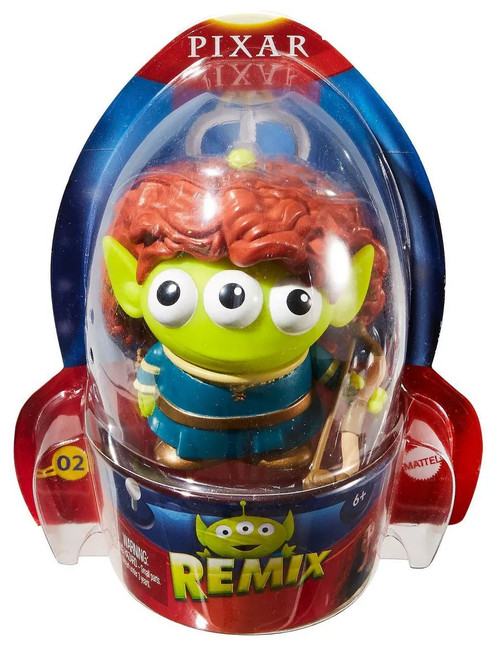 Disney / Pixar Toy Story Alien Remix Series 1 Merida 3-Inch Mini Figure #02